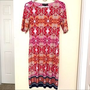 KARIN STEVENS beautiful dress- like new- size S